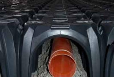 Belüftungsrohr für Radon Gas